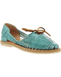 Chamula - Merida Lace Sandals E - Lyst