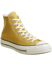 Converse - 1970s Chuck Taylor All Star Canvas High-top Sneakers - Lyst
