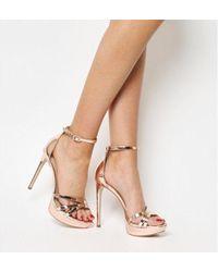 Office - Hey Day Platform Heel Sandal - Lyst