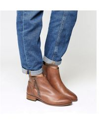 Office - Accent- Side Zip Boot - Lyst