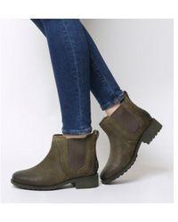 de800f99d17 Ugg Cybele Ankle Boot in Black - Lyst