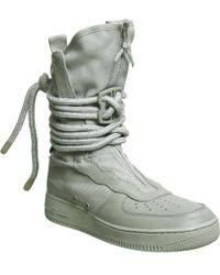 d0358e7586617 Nike Zoom Kynsi Jacquard Waterproof Boots - Black in Black for Men ...