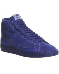 Nike   Blazer Hi Suede Vintage   Lyst
