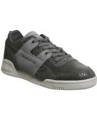 Reebok Workout Low Gum White Shoe Bd4764 in White - Lyst d17a3c94a