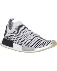 ad59ebda81378 Adidas Originals Nmd r1 Stlt Primeknit White in White for Men - Lyst