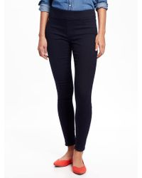 Old Navy - Mid-rise Rockstar Jeggings - Lyst