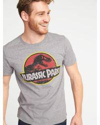 d8bb0f3dc Forever 21 Jurassic Park Graphic Tie-dye Tee in Black for Men - Lyst