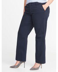 41fdb4707b Old Navy - Secret-slim Pockets Plus-size Everyday Boot-cut Khakis -