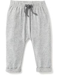 Old Navy - Plush-knit Jersey Pants - Lyst
