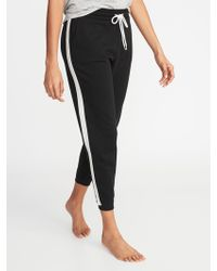 Old Navy - Side-stripe French-terry Joggers - Lyst