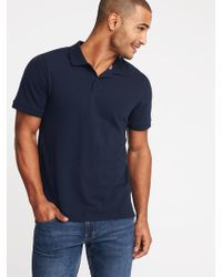 Old Navy - Built-in Flex Moisture-wicking Pro Polo - Lyst