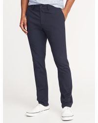 Old Navy - Slim Built-in Flex Dry Quick Ultimate Khakis - Lyst