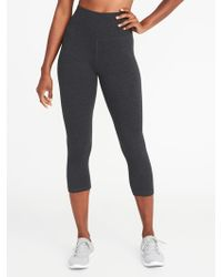 b9fd3e5adae ... Plus-size 7 8-length Street Leggings.  40. Old Navy · Old Navy - High-rise  Yoga Crops - Lyst