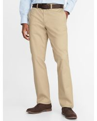 Old Navy - Straight Ultimate Built-in Flex Non-iron Pants - Lyst