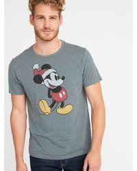 Old Navy - Disney© Mickey Mouse Santa Tee - Lyst