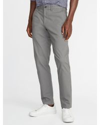 Old Navy - Relaxed Slim Ultimate Built-in Flex Khakis - Lyst