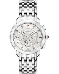 Michele Watches - Sidney Silver Watch - Lyst