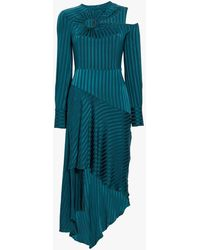 Yigal Azrouël - Long Sleeve Cutout Dress - Lyst