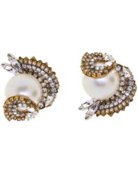 Erickson Beamon - Delicate Balance Earrings - Lyst