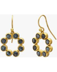 Gurhan - Pointelle Hue Single Drop Earrings - Lyst