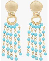 Stephanie Kantis - Cleo Beaded Earrings - Lyst