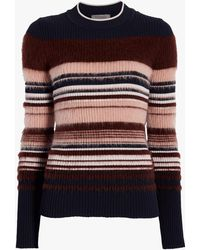 Sportmax - Striped Wool Sweater - Lyst