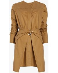 Carven - Poplin Wrap Dress - Lyst