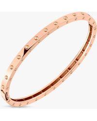 Roberto Coin - Pois Moi Oval Bangle Bracelet - Lyst