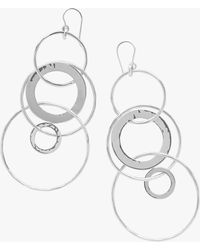 Ippolita - Classico Mixed Large Links Jet Set Earrings - Lyst