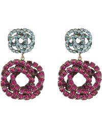 DANNIJO - Chrysanthe Statement Earrings - Lyst