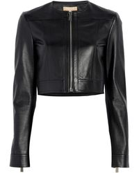 Michael Kors - Cropped Jacket - Lyst