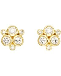 Temple St. Clair - Classic Trio Earring In Diamond - Lyst