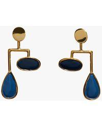 Lizzie Fortunato - Midnight Drop Mobile Earrings - Lyst