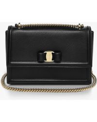 Ferragamo - Ginny Medium Shoulder Bag - Lyst