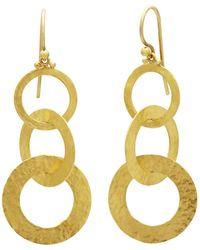 Gurhan - Triple Drop Mango Link Earrings - Lyst