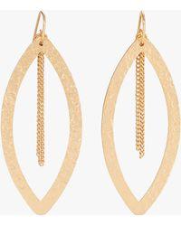 Stephanie Kantis - Paris Single Eye Chain Earrings - Lyst
