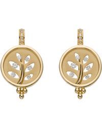 Temple St. Clair - Tree Cutout Earrings - Lyst