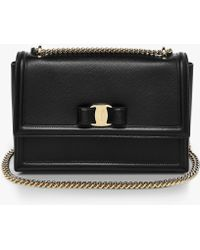Ferragamo - Ginny Medium Shoulder Bag - Lyst