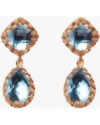 Larkspur & Hawk - Small Jane Earrings - Lyst