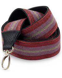 Oliver Bonas - Shimmer Striped Bag Strap - Lyst