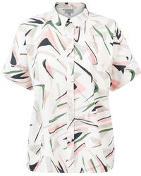 53036ee585a196 Ted Baker · Oliver Bonas - Unity Printed Cotton Shirt - Lyst