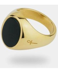 Phira London - Gold / Bloodstone Jamestown Ring - Lyst