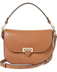 Aspinal - Slouchy Saddle Bag - Lyst