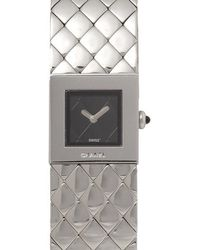 Chanel - Quilted Mademoiselle Watch - Lyst