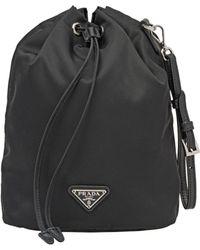 b67a00d0564c Prada Nylon - Women's Prada Nylon Bags - Lyst