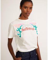 Cynthia Rowley - Buttercup Printed Tee - Lyst
