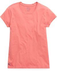 4e111e1dd60b29 Polo Ralph Lauren - Cotton Crewneck T-shirt - Lyst
