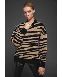 Anine Bing - Cheyenne Sweater - Zebra - Lyst
