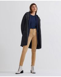 AG Jeans - The Farrah Skinny Ankle - Sulfur Toasted Almond - Lyst