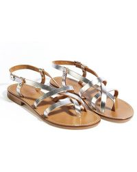 5699d5c07 Lyst - Forever 21 Mia Heritage Gladiator Sandals in Brown